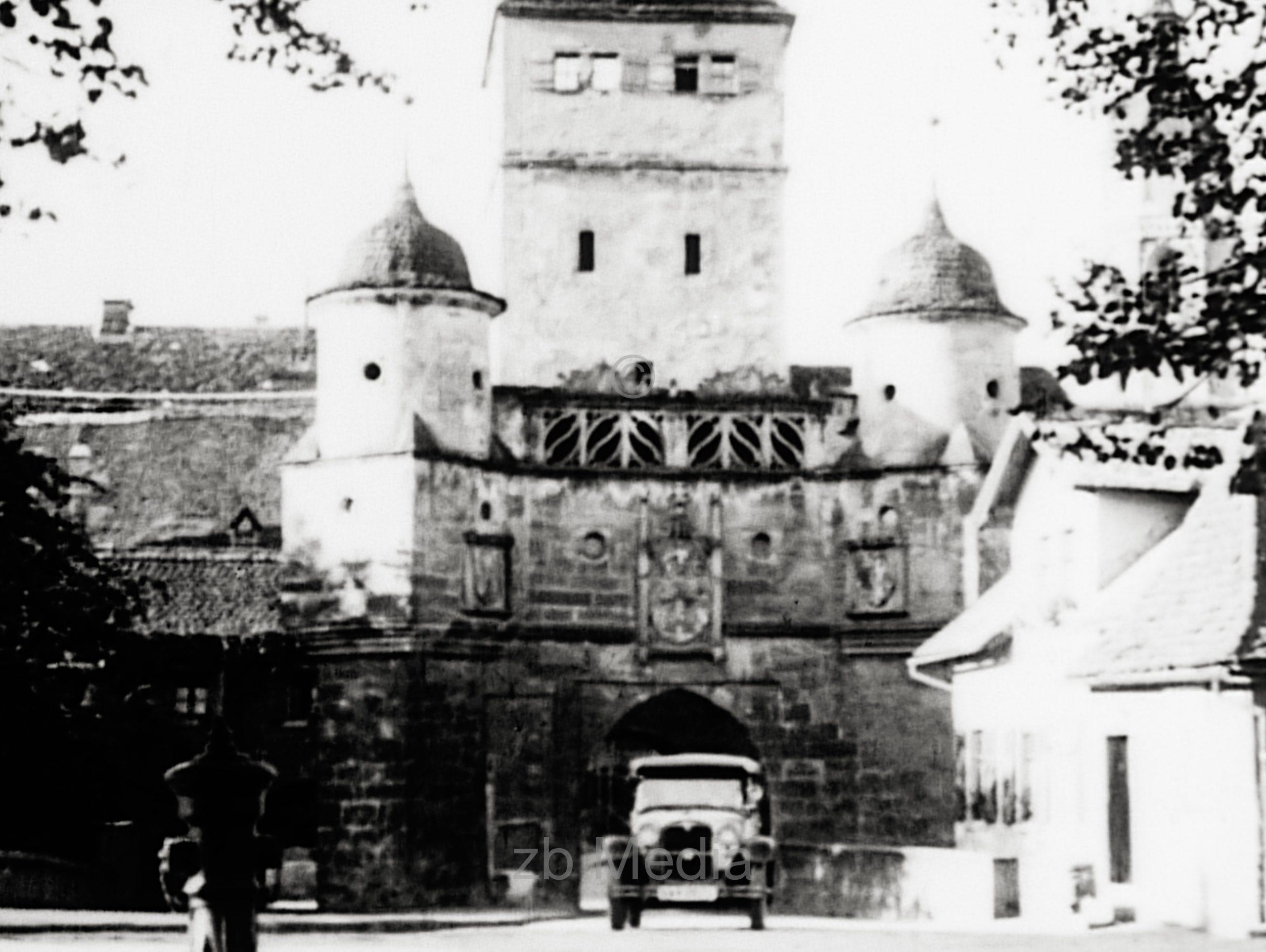 Ellinger Tor, Weissenburg in Bayern, 1930