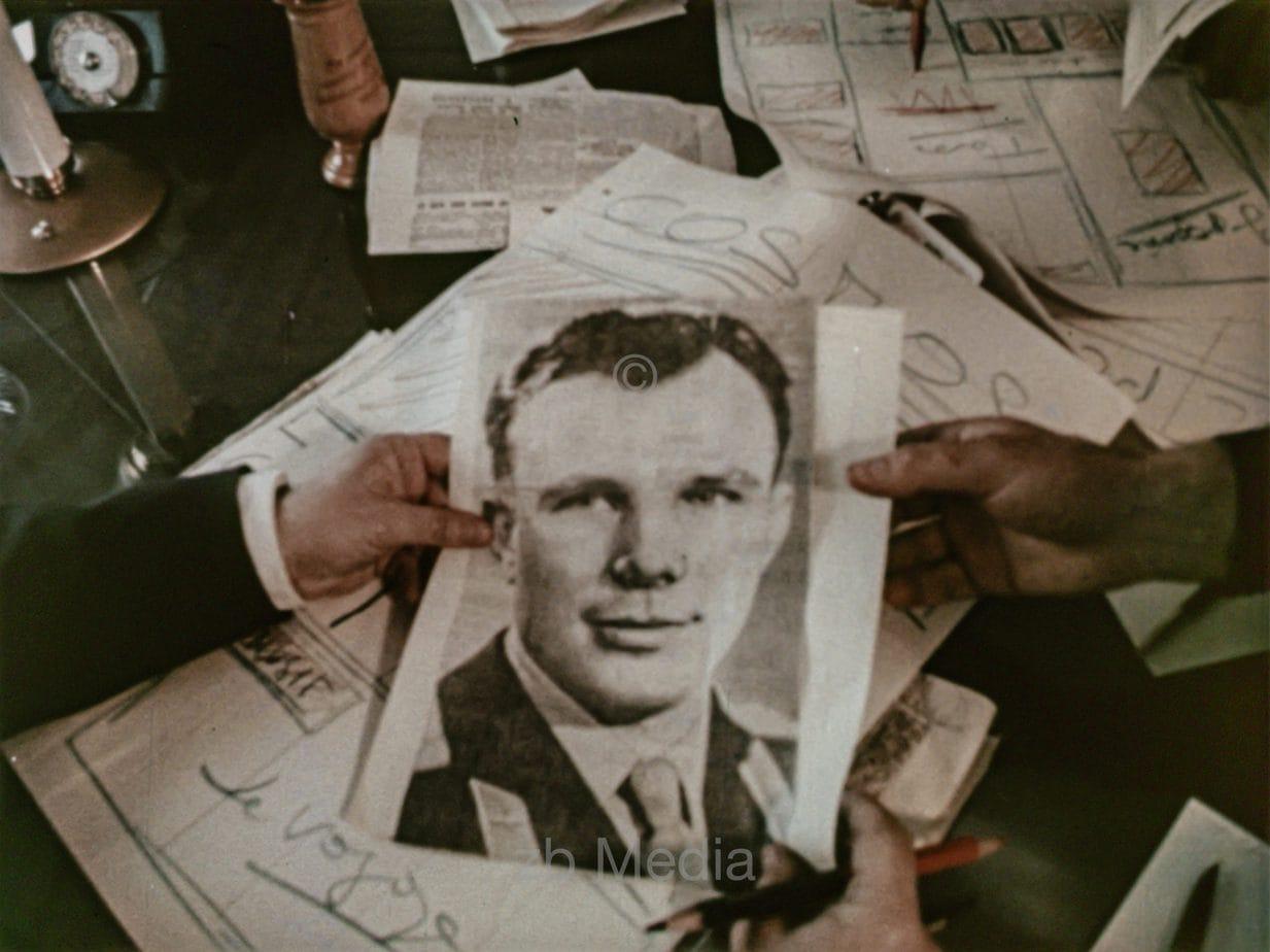 Presseecho Raumflug Juri Gagarin