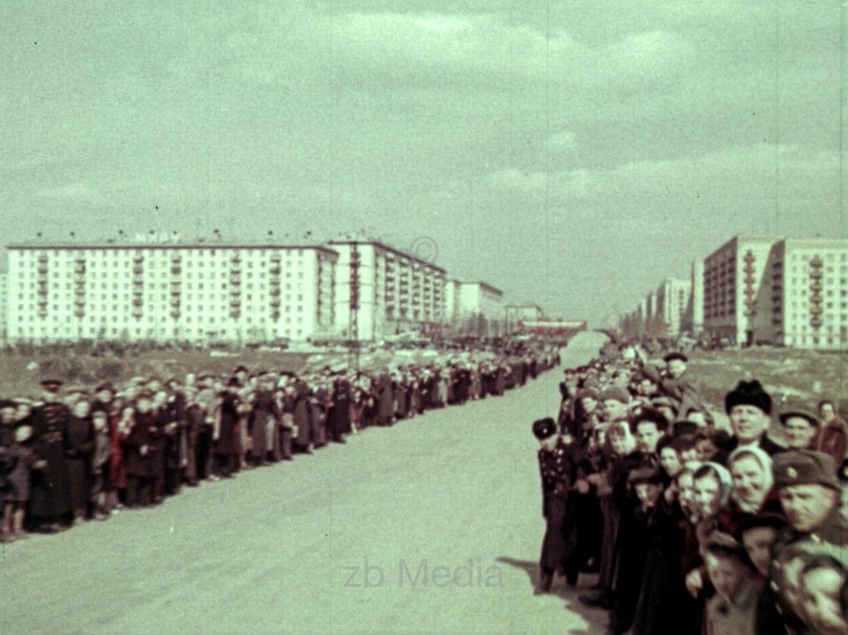 Empfang von Juri Gagarin in Moskau