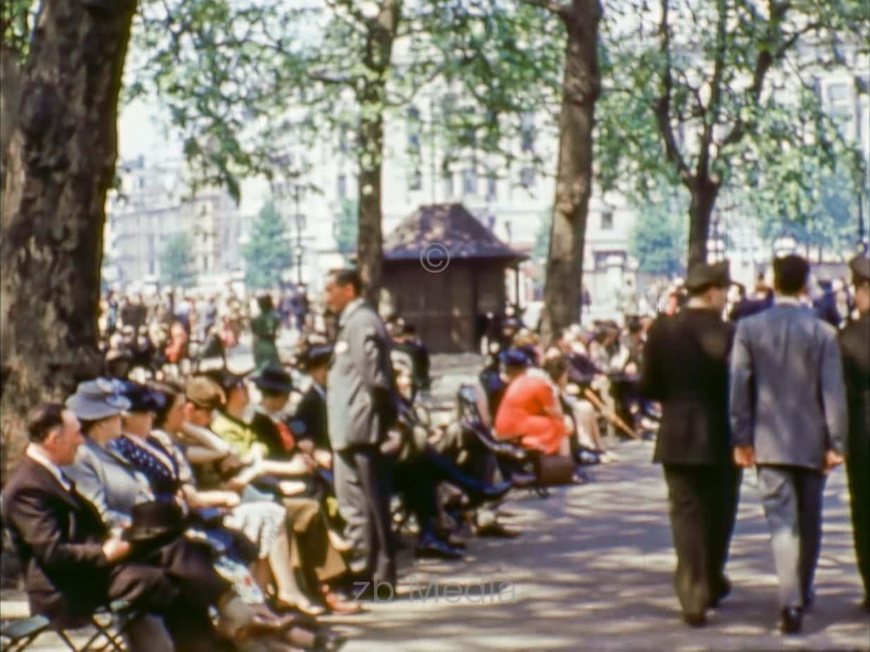 Hyde Park, London 1944