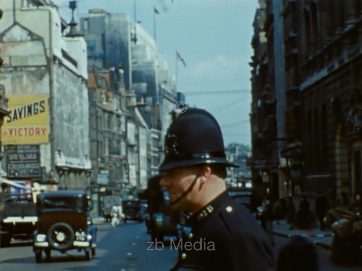 Policeman, London 1944