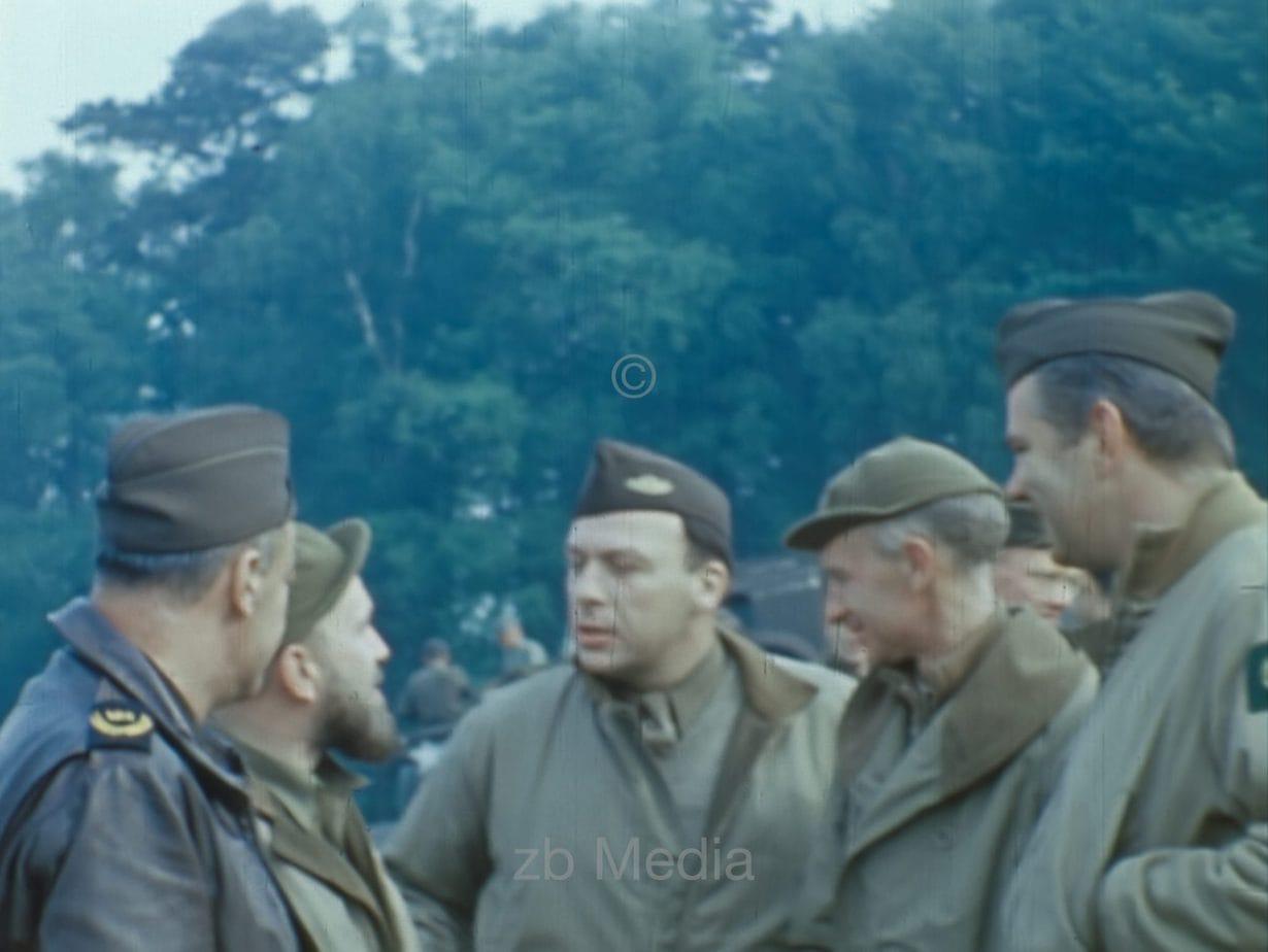 US-Kriegskorrespondenten, Südengland 1944