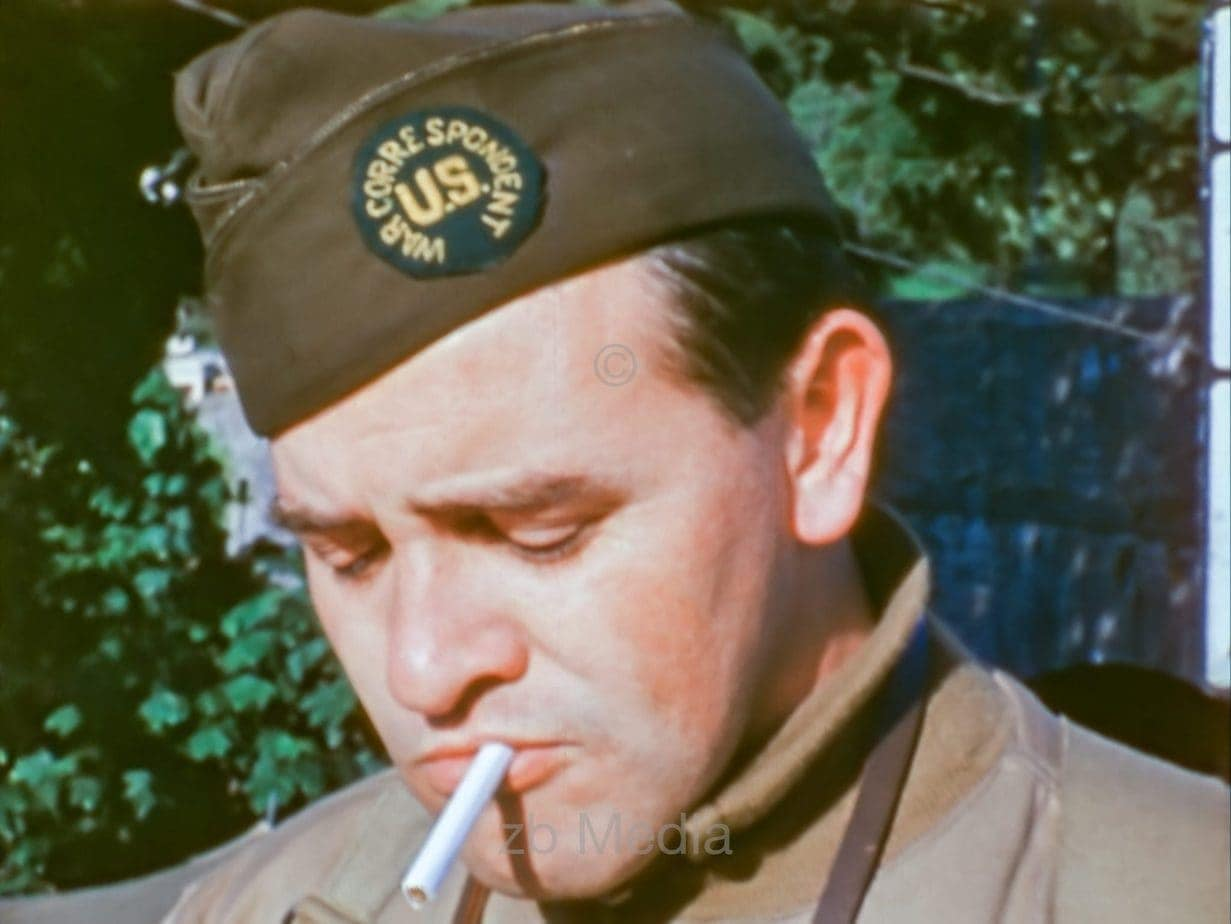 Pete Carroll, Korrespondent D-Day 1944