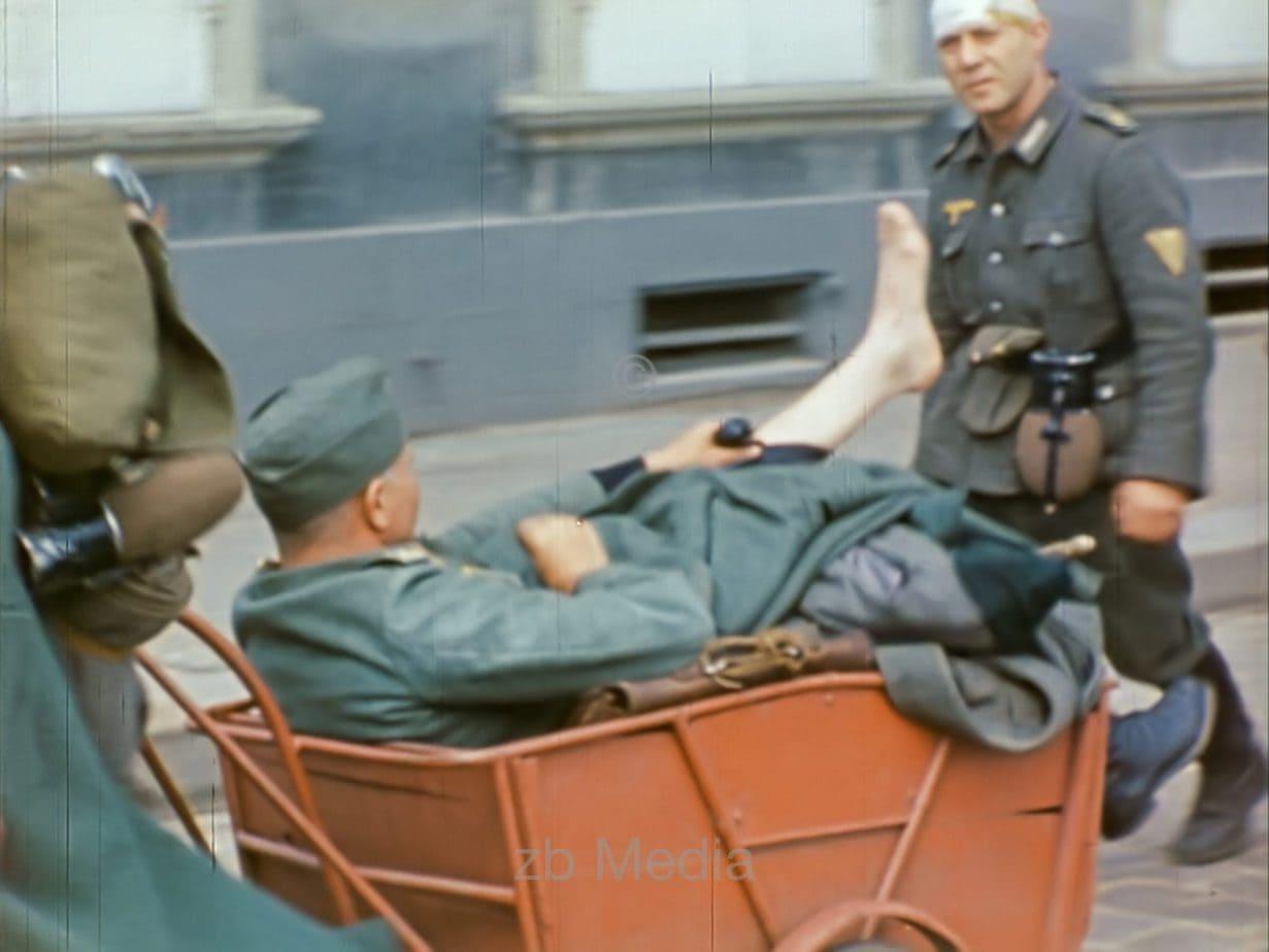 Kriegsgefangene Wehrmachtssoldaten Cherbourg 1944