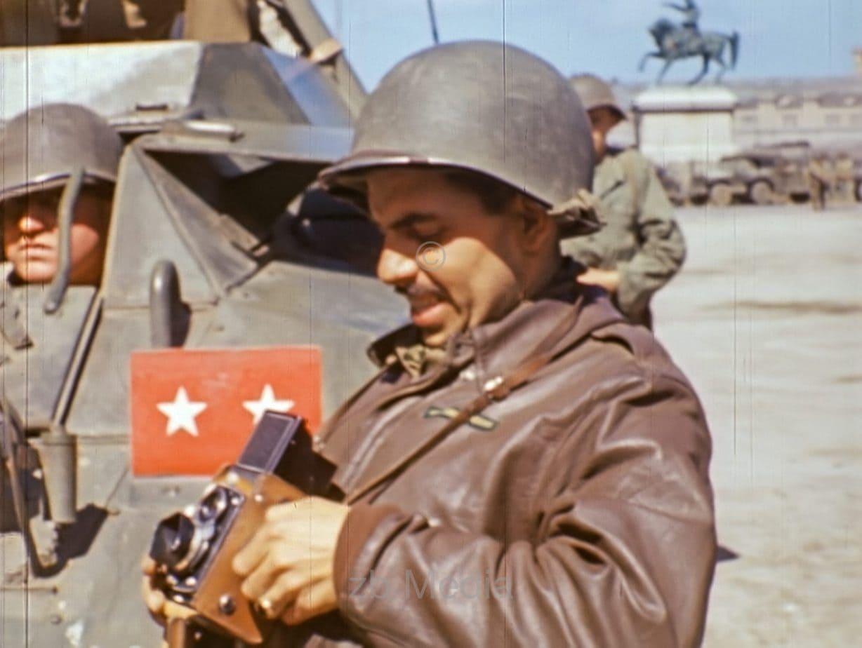 US-Kriegskorrespondenten in Cherbourg 1944