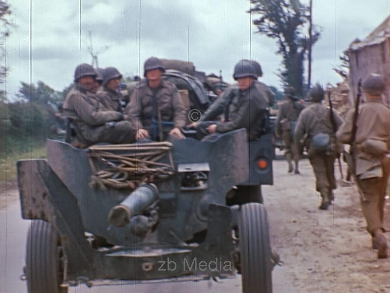 US Vormarsch in der Normandie 1944