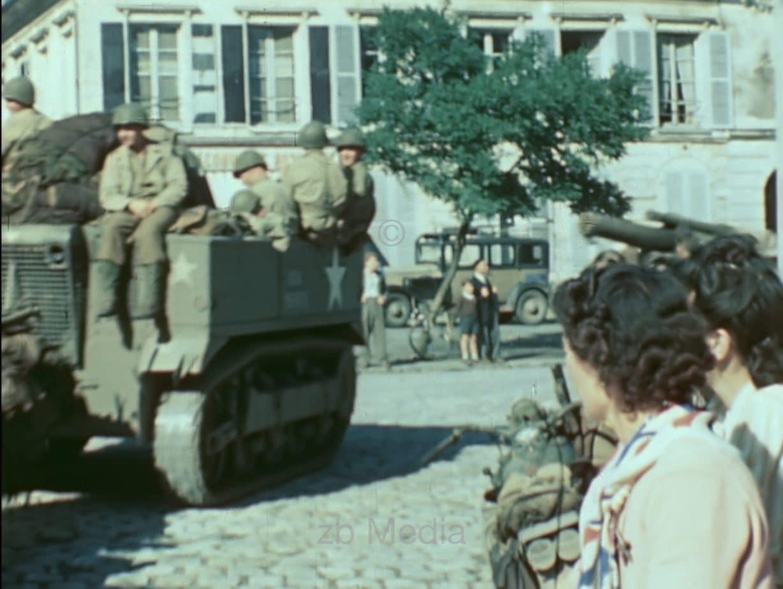 US Vormarsch Versailles 1944