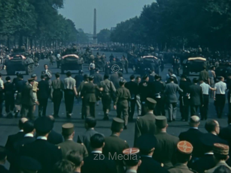 US-Truppen in Paris, 19.8.1944