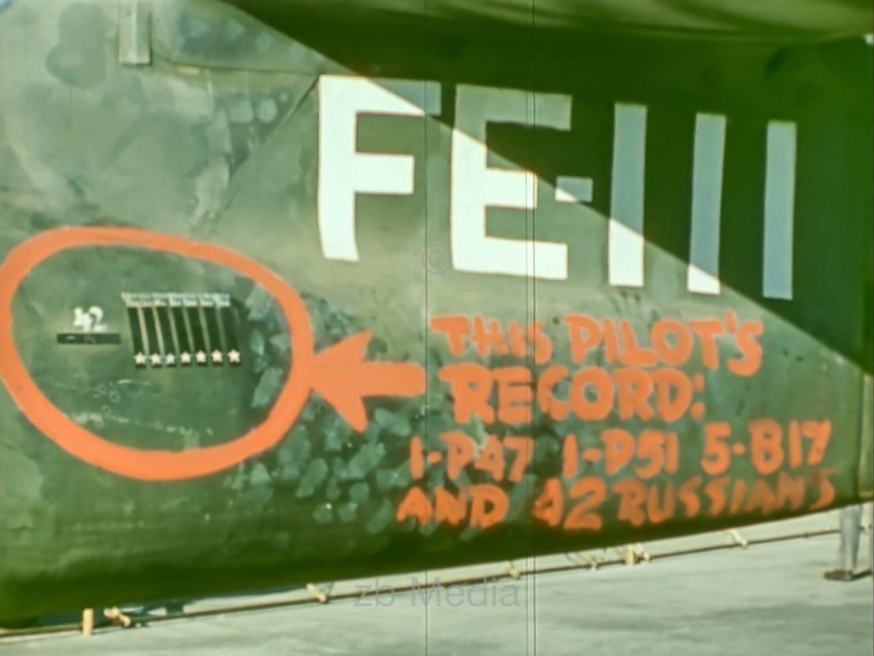 Düsenjäger ME 262, Abschussmarkierungen