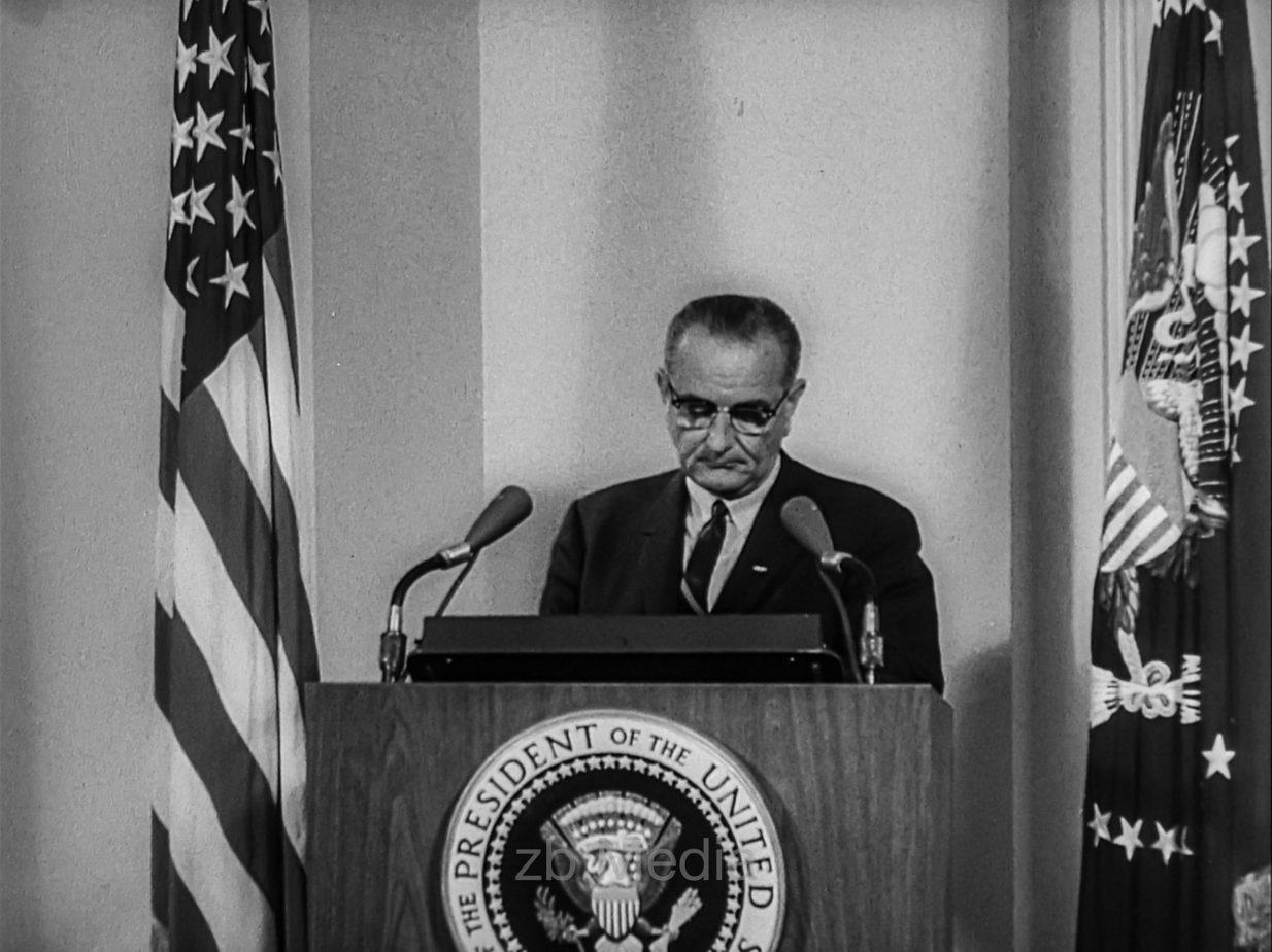 Lyndon B. Johnson. Ansprache Tonkin Zwischenfall 1964