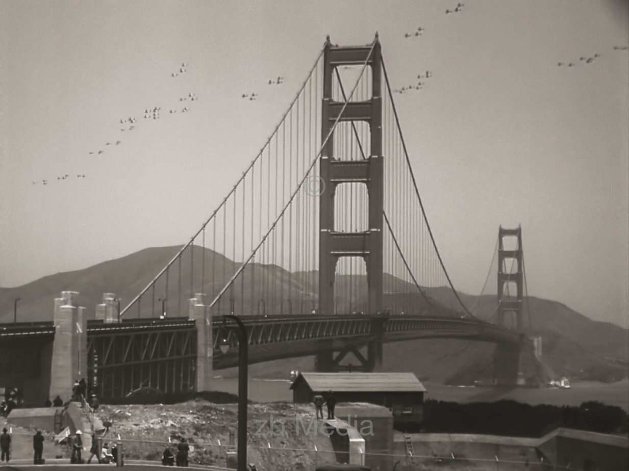Opening Golden Gate Bridge 1937