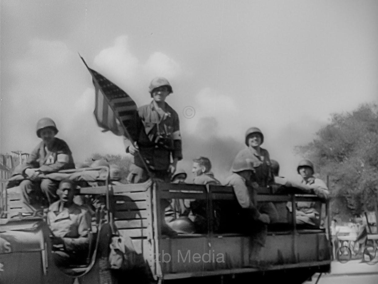 US-Soldaten, Befreiung von Paris 19.8.1944