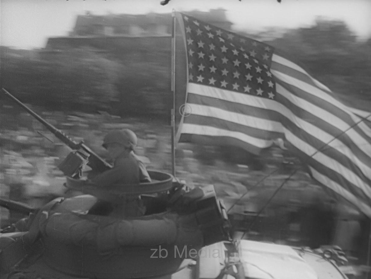 US-Panzer, Befreiung von Paris 19.8.1944
