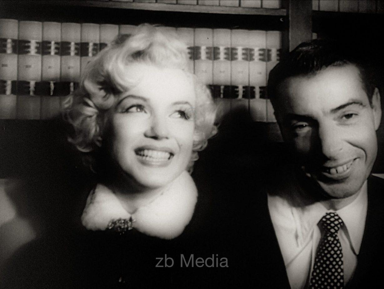 Marilyn Monroe und Joe DiMaggio