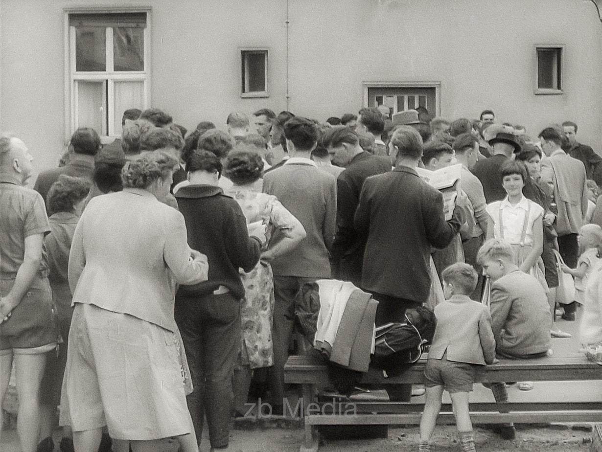 Flüchtlinge Berlin 1961
