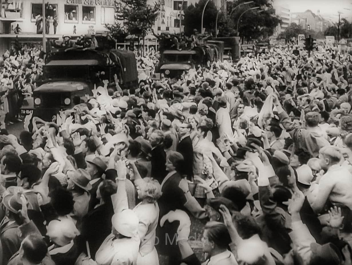 US Truppen in Berlin, August 1961