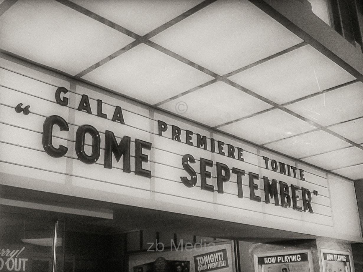 Filmpremiere von Come September in Hollywood