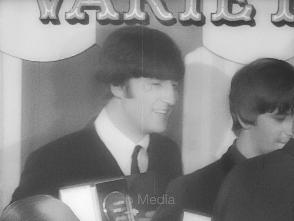 John Lennon Variety Club 1964