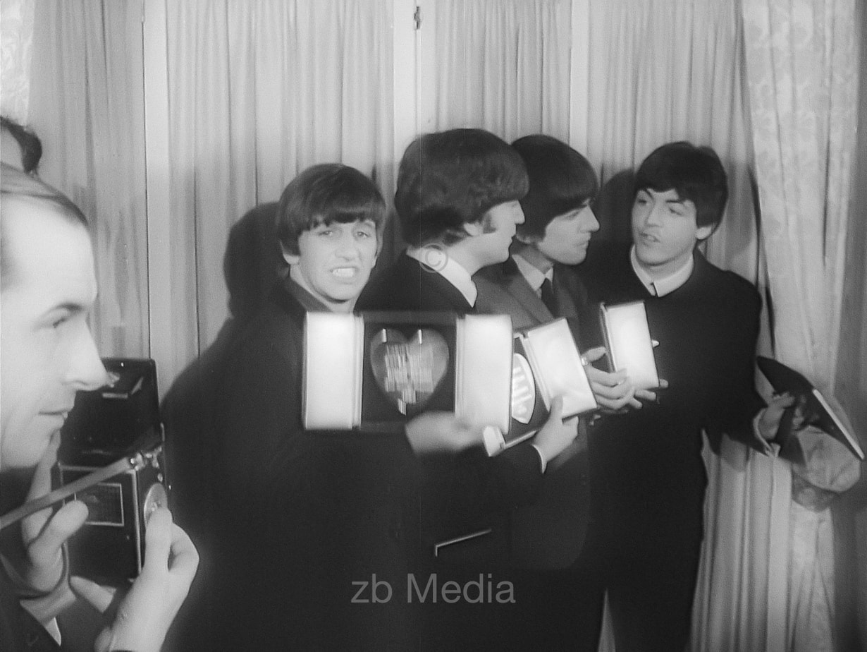 Die Beatles  Variety Club 1964