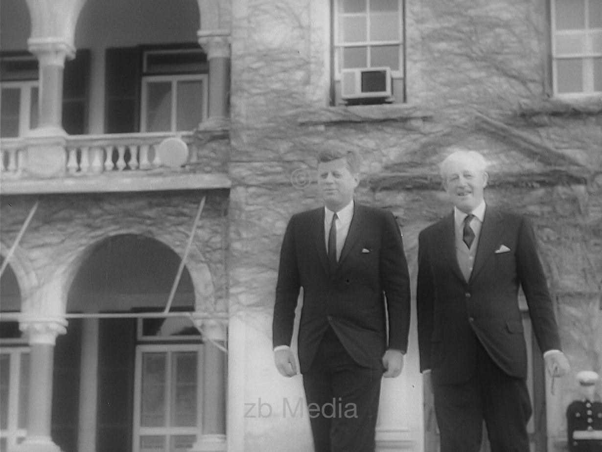 John F. Kennedy in England 1963