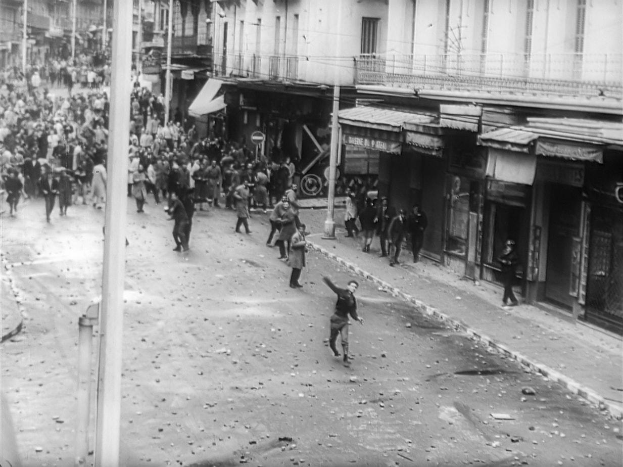 Straßenschlacht Algier 1960