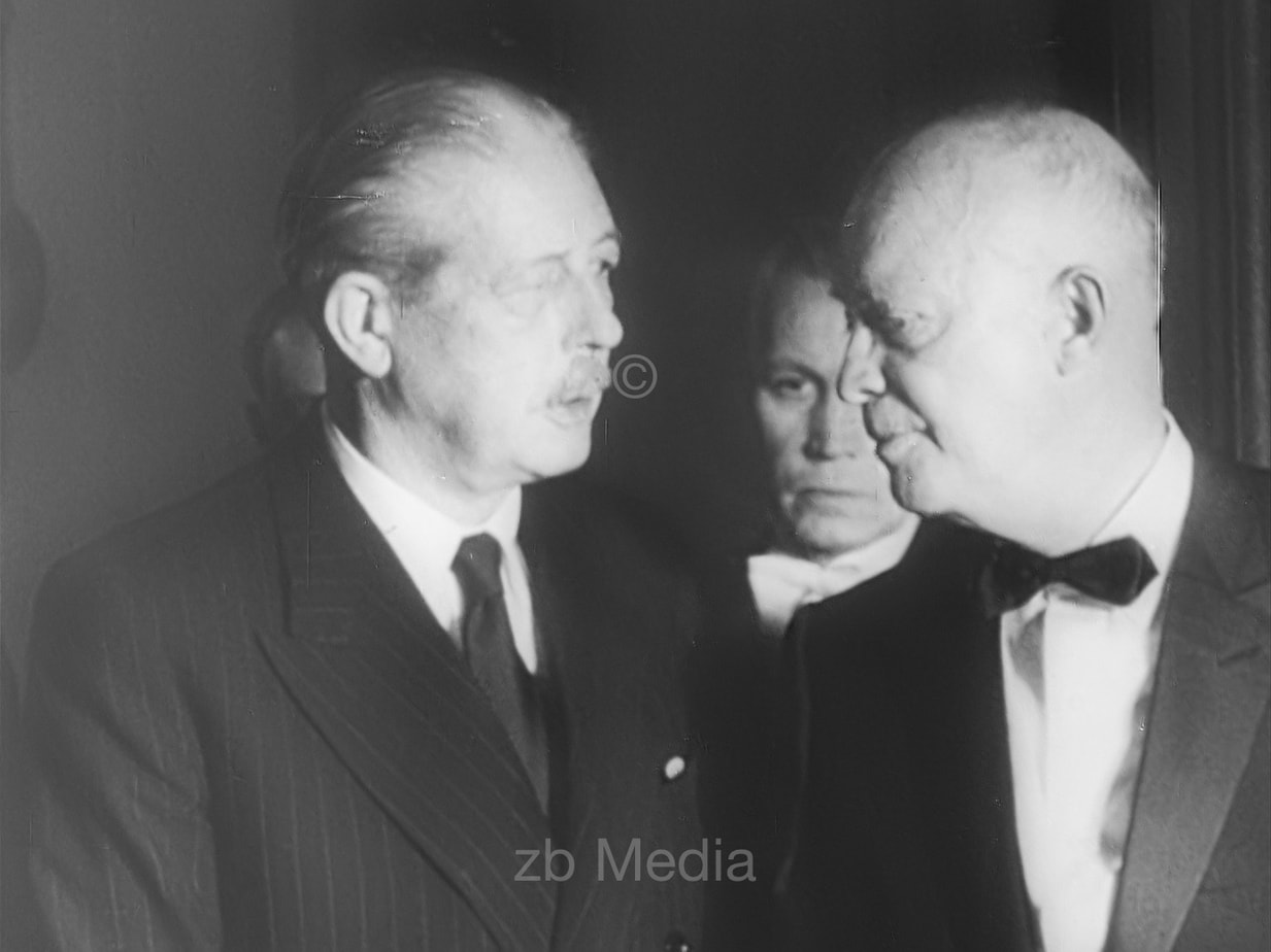Präsident Eisenhower und Premier MacMillan 1960