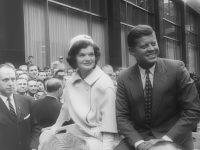 John und Jacqueline Kennedy nach Präsidentenwahl