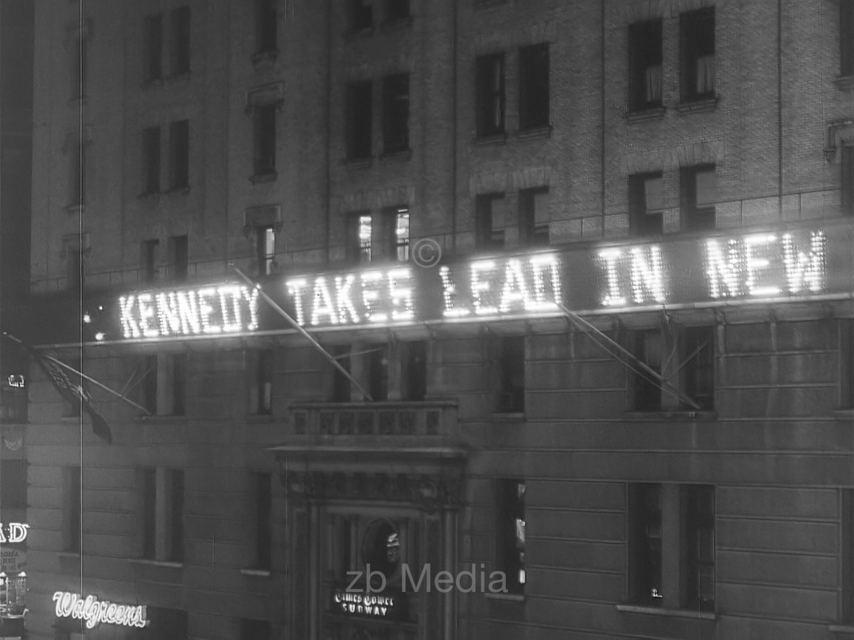 John F. Kennedy in the lead - 1960 presidential election