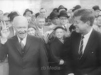 President Elect John F. Kennedy mit Dwight D. Eisenhower