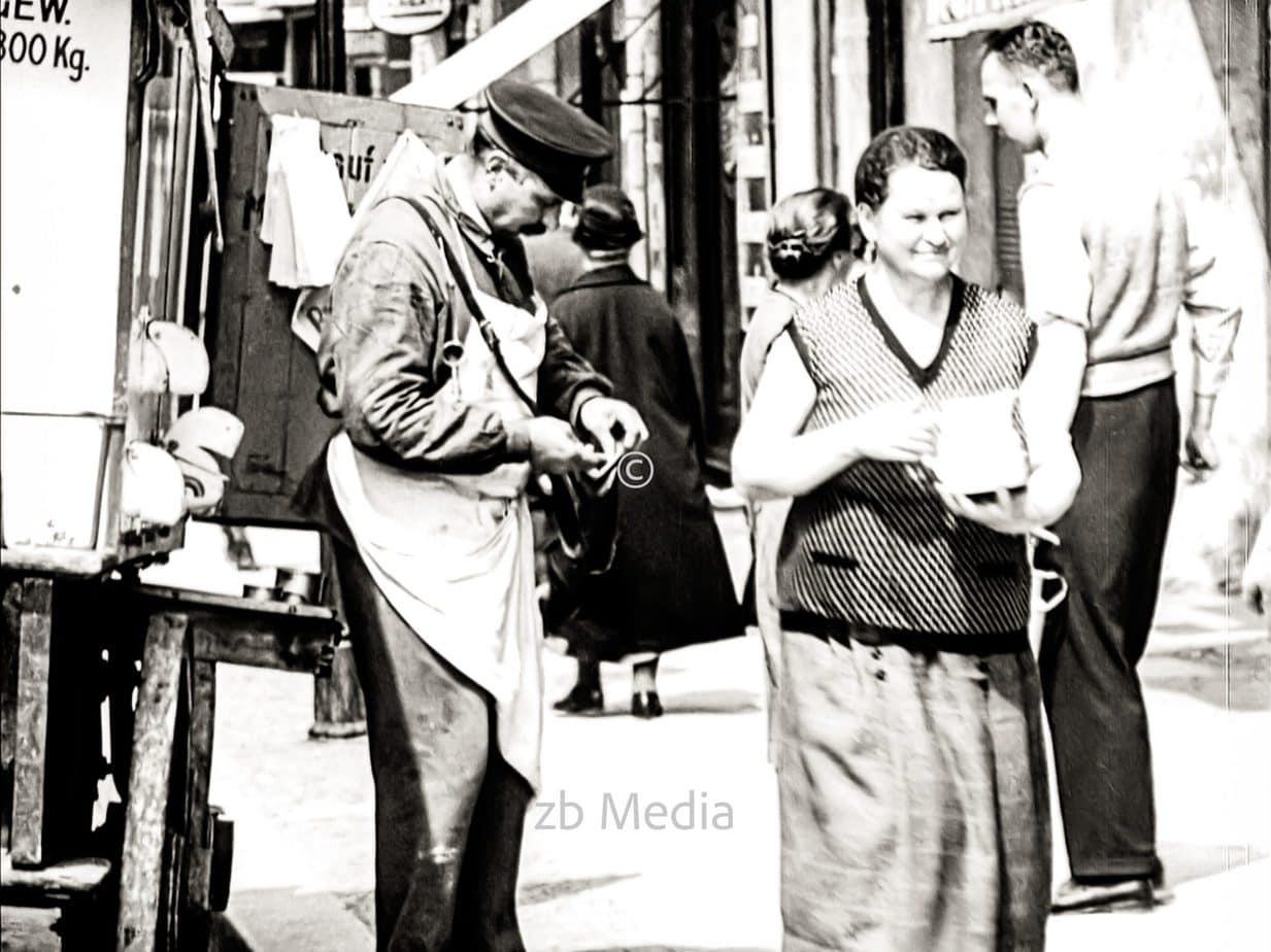 Straßenverkauf in Berlin 1930