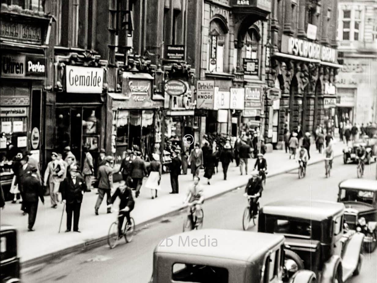 Friedrichstraße in Berlin 1930