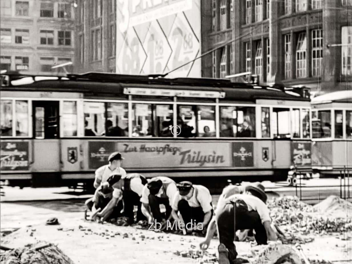 Straßenbahn in Berlin 1930