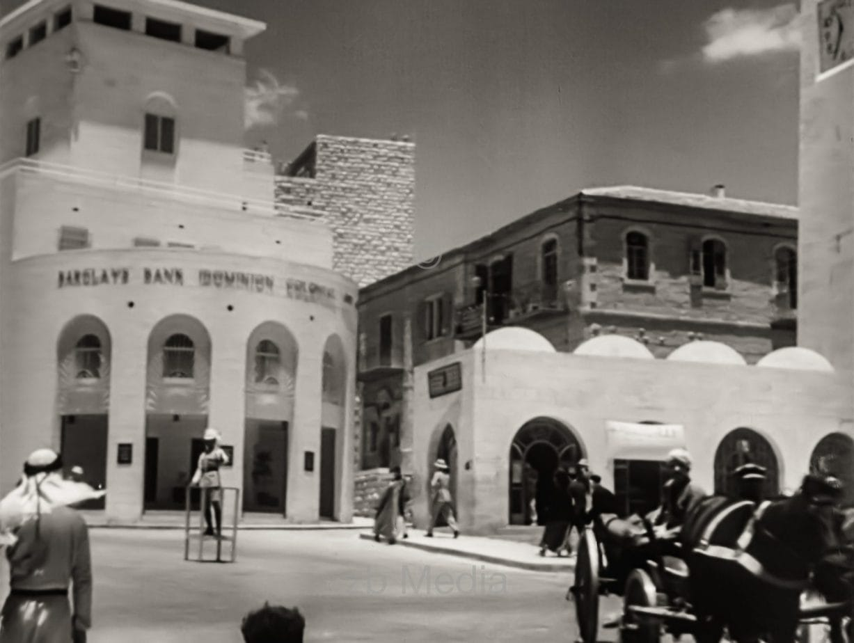 Barclays Bank in Jerusalem 1933