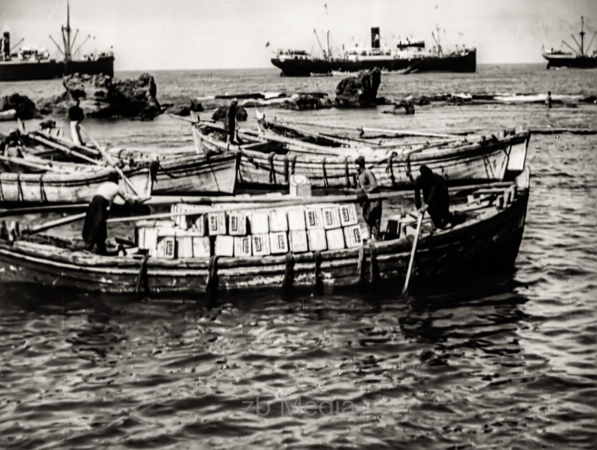 Hafen von Tel Aviv 1937