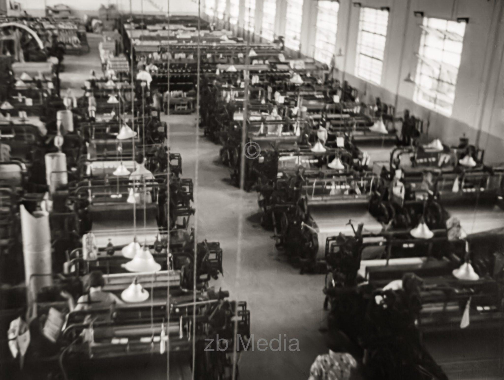 Textilfabrik in Tel Aviv 1937