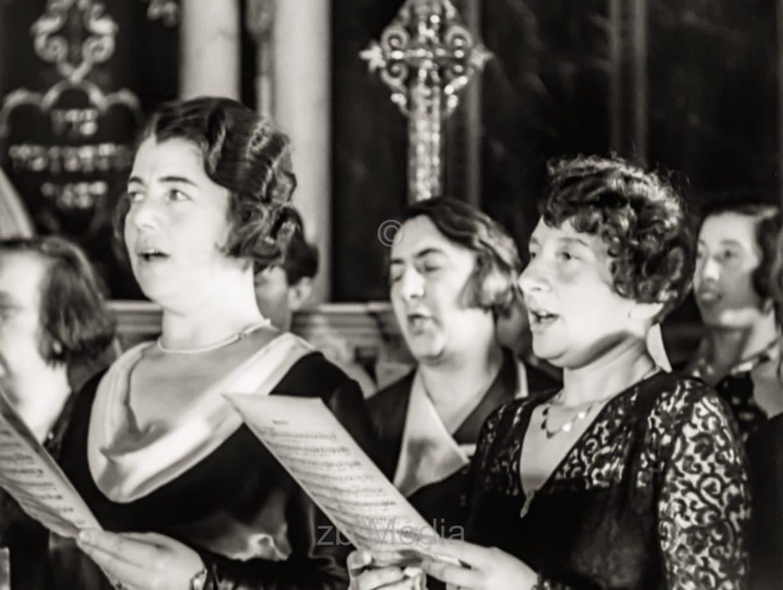 Jüdischer Gottesdienst in Berlin 1933