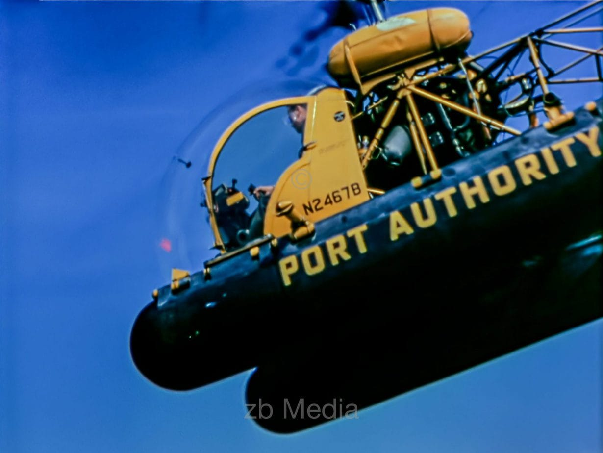 Helikopter der Port Authority New York 1958