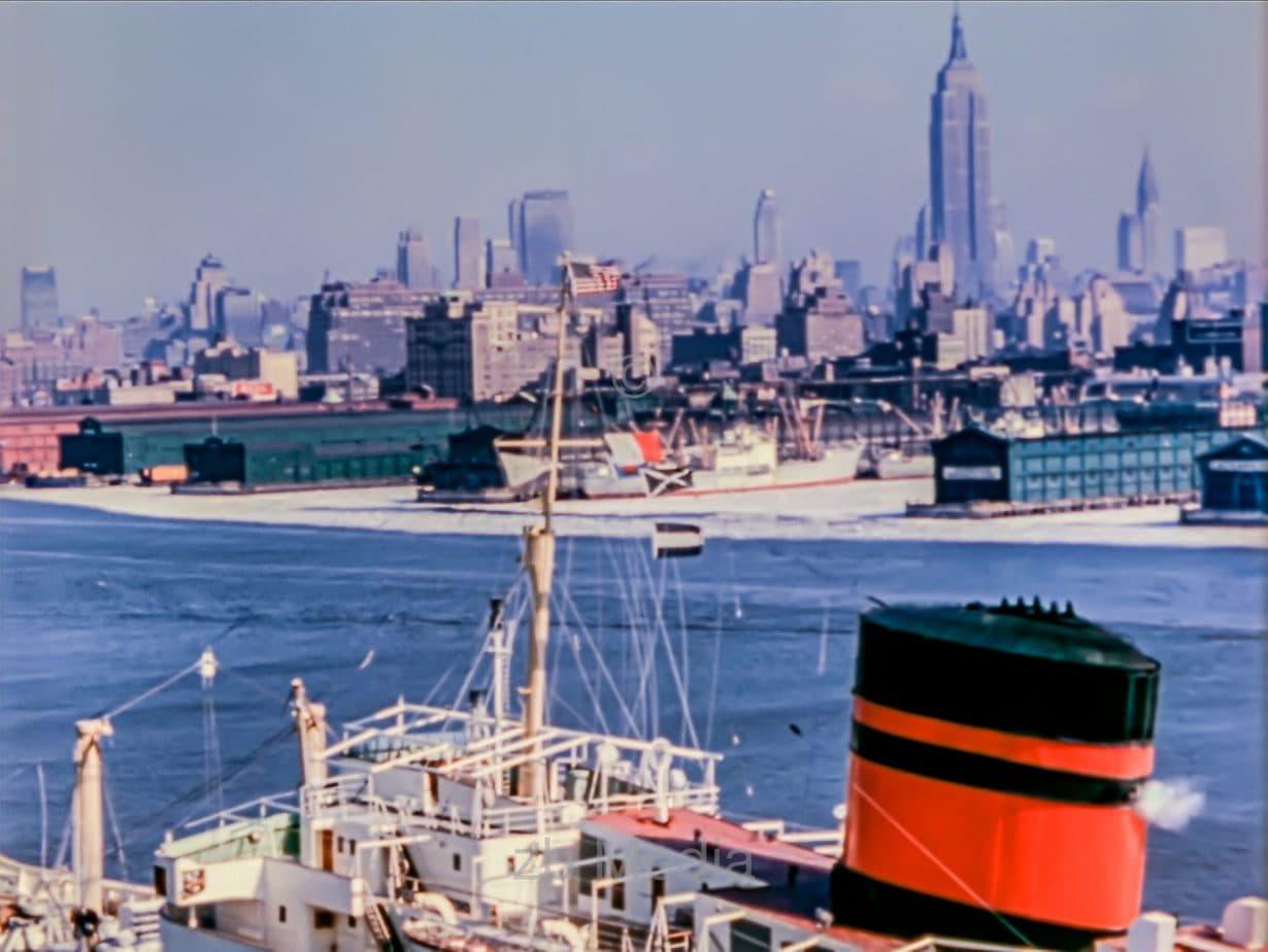 Skyline New York City Harbour