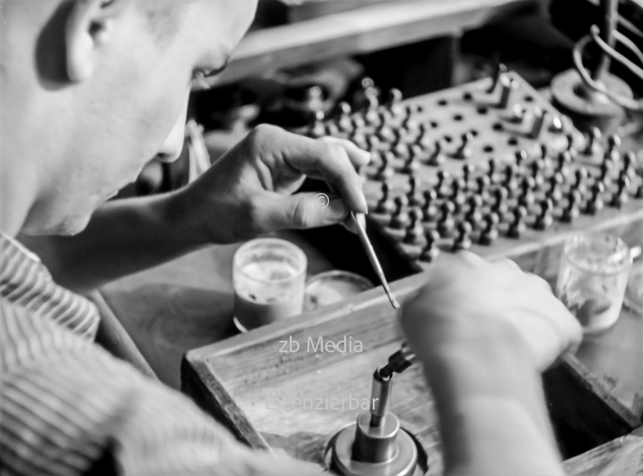 Leica-Kamerafabrik in Wetzlar 1937