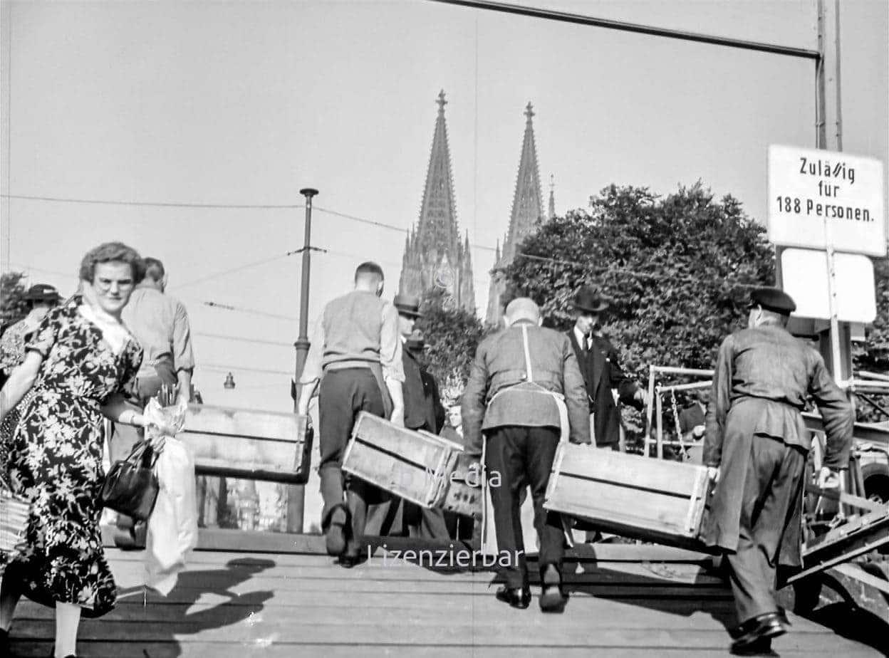 KdF Reisegruppe in Köln