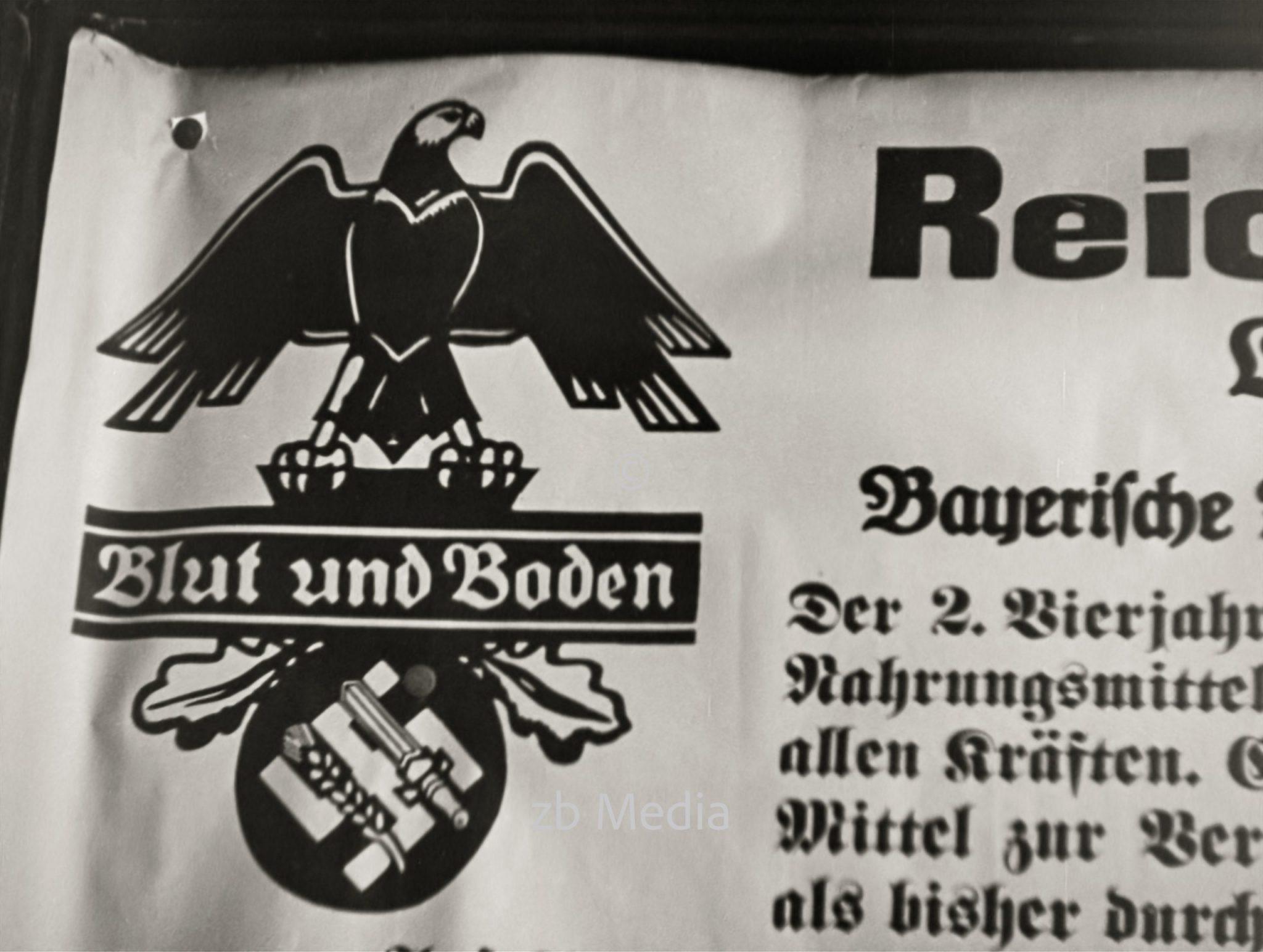 Plakat Reichsnährstand 1937