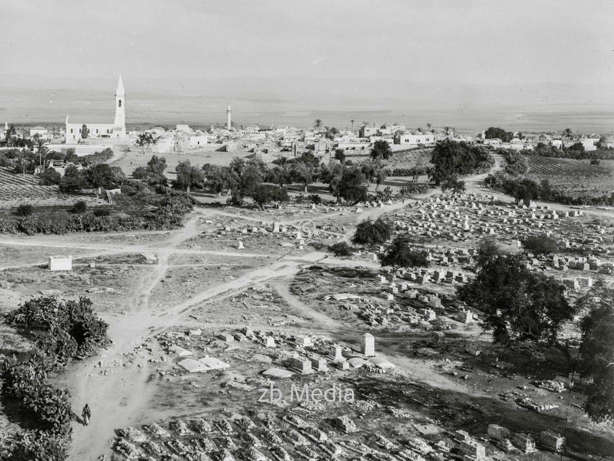 Ramleh (Arimathea) vom Turm aus