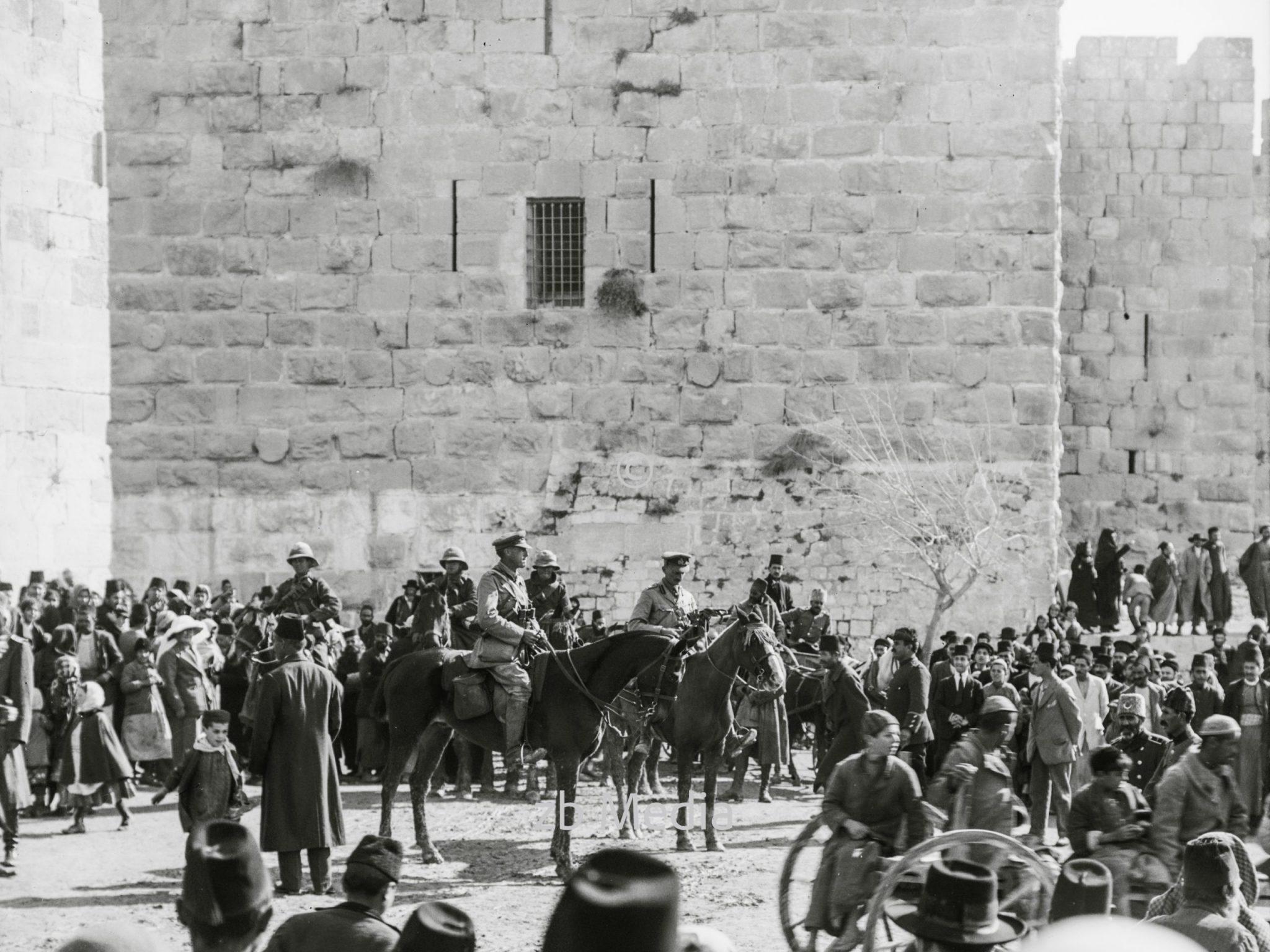 Kapitulation von Jerusalem 1917