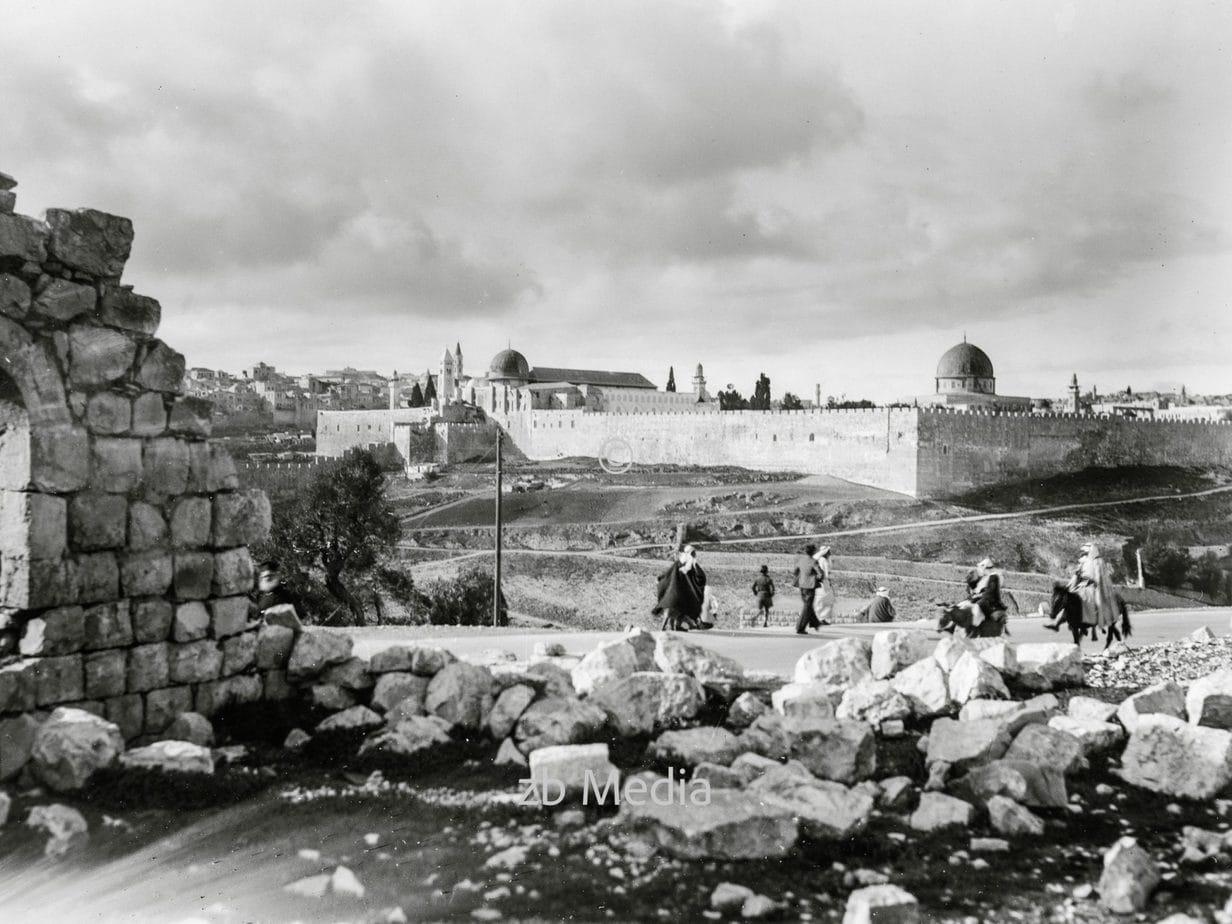 Jerusalem um 1925