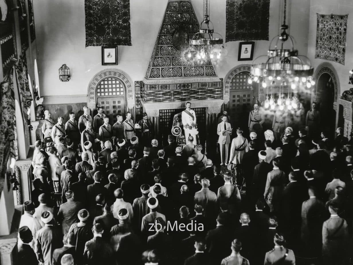 Ankunft von Hochkommisar Sir Herbert Samuel in Jerusalem 1920