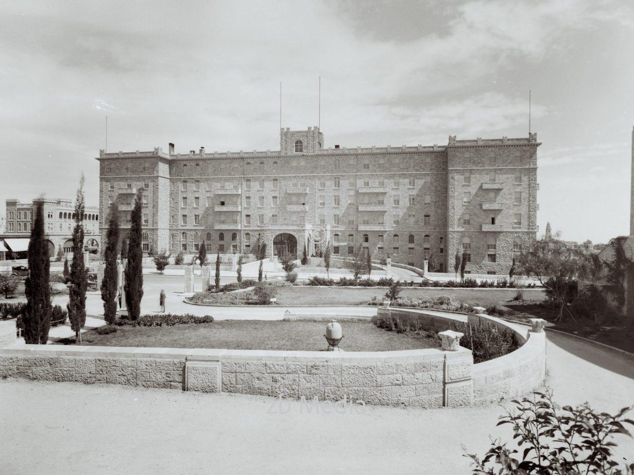 King David Hotel Jerusalem 1935