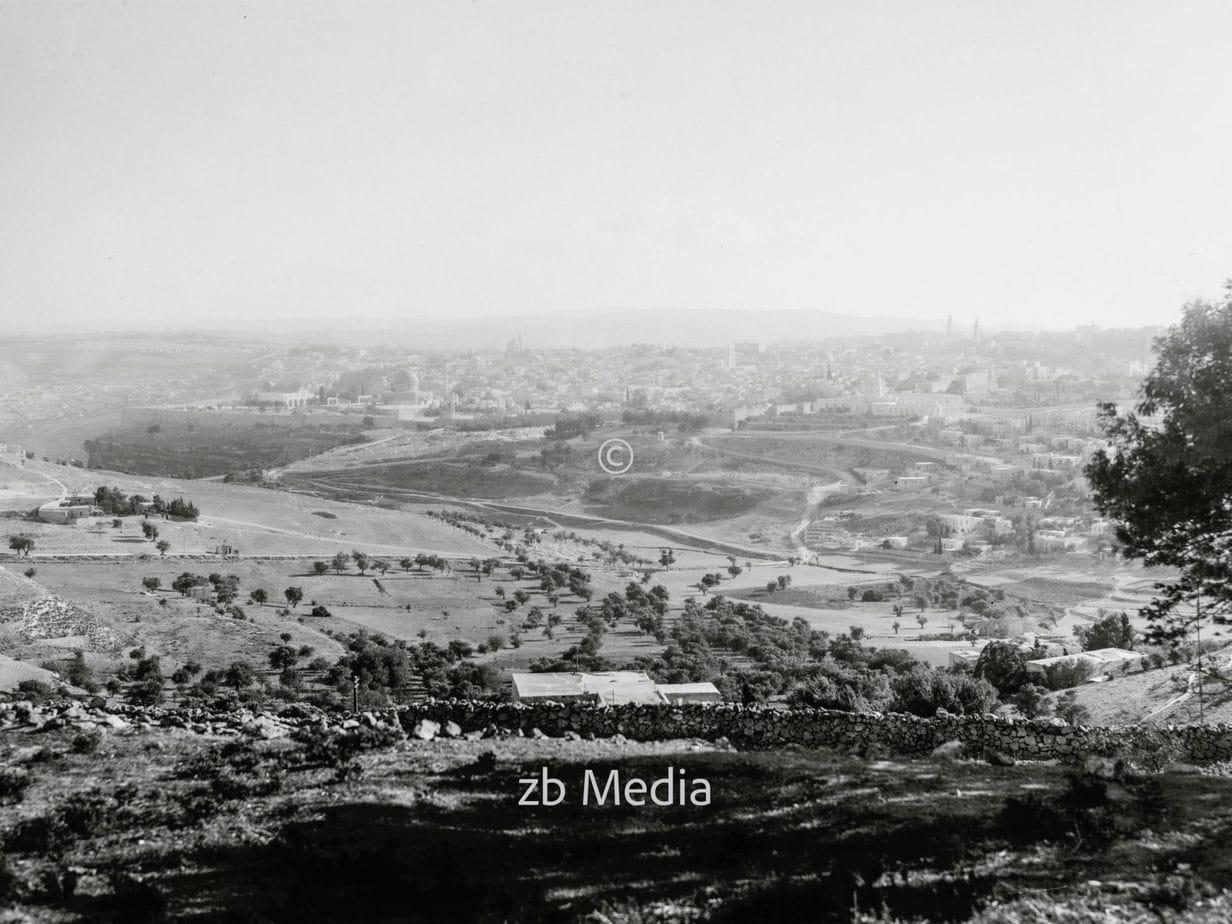 Landschaft in Palästina um 1935