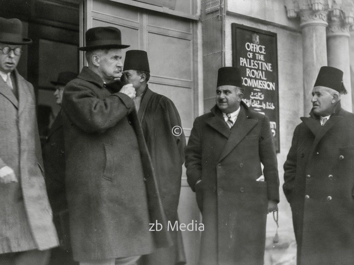 Lord Peel und Sir Horace Rumbold