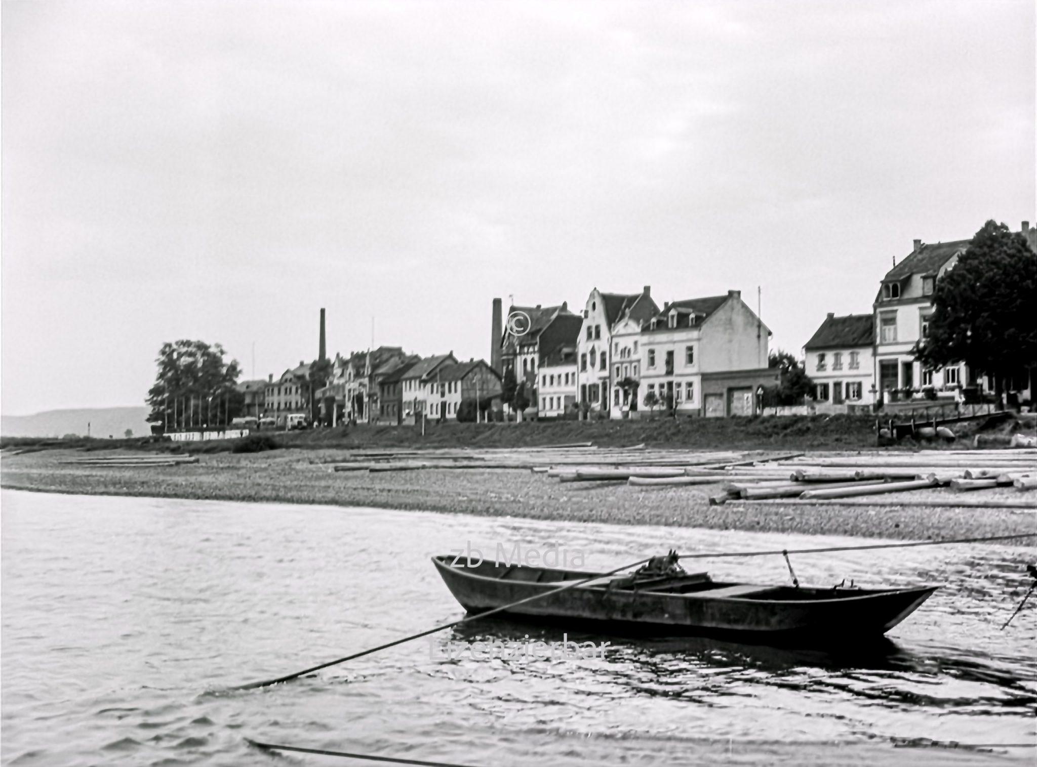 Kahn am Rhein 1937