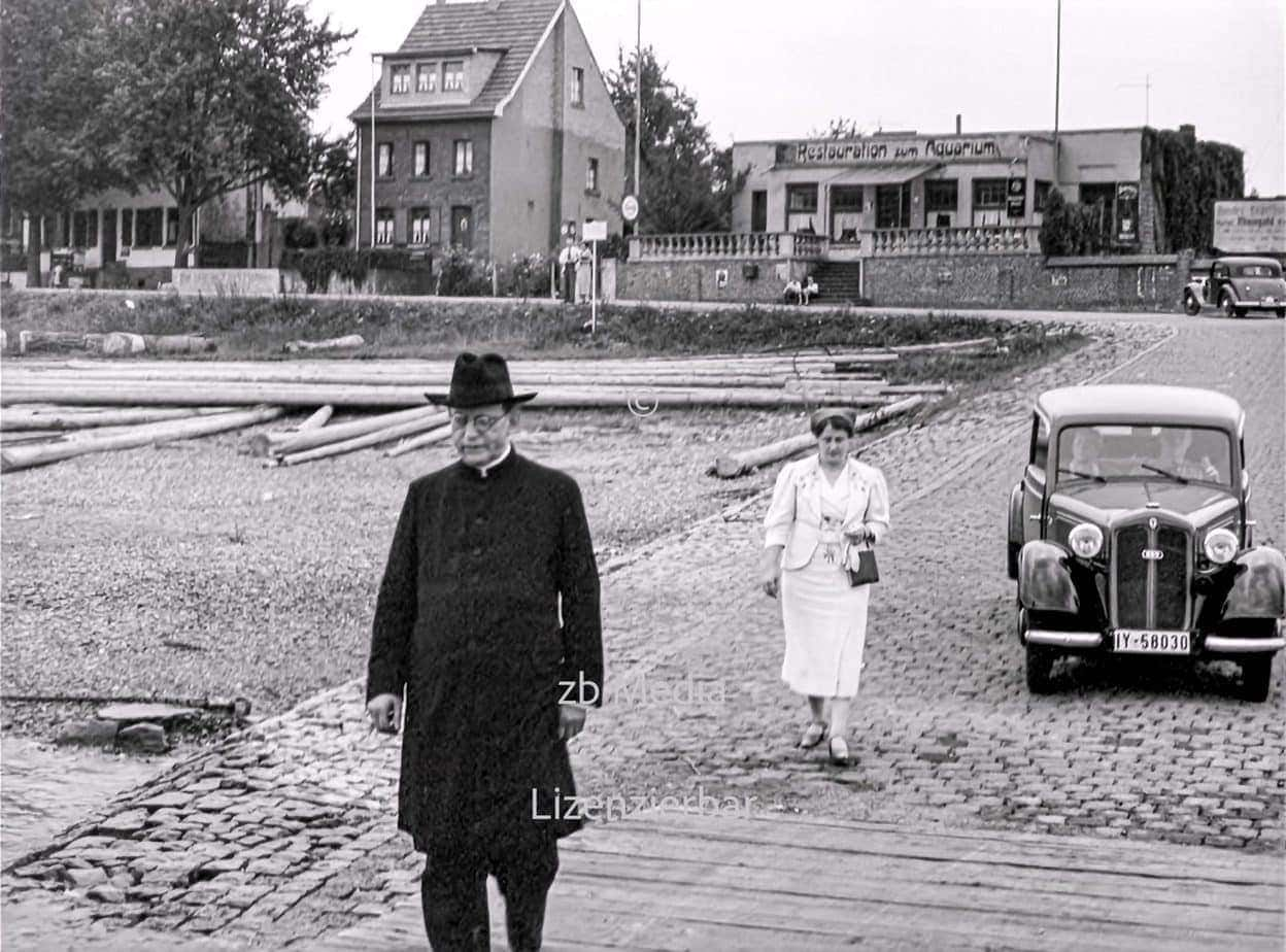 Rheinfähre Königswinter 1937